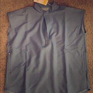 Figs XS set of heather indigo scrubs